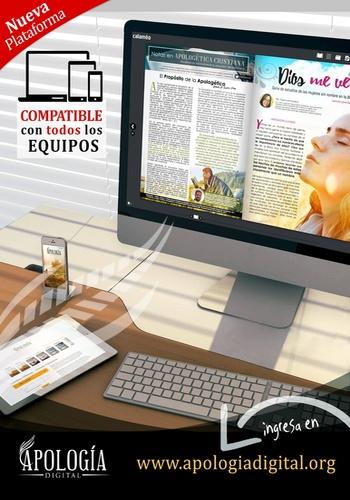 digital magazine Apología Digital publishing software