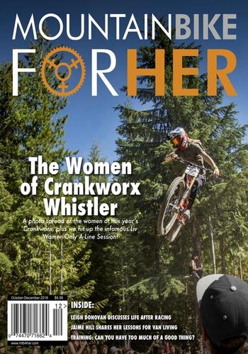 digital magazine Mountain Bike for Her publishing software