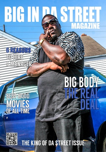 digital magazine BIG IN DA STREET MAGAZINE publishing software
