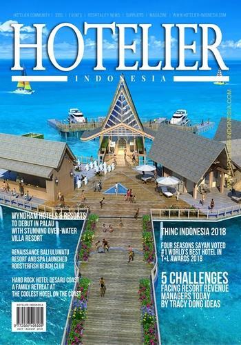 digital magazine Hotelier Indonesia publishing software