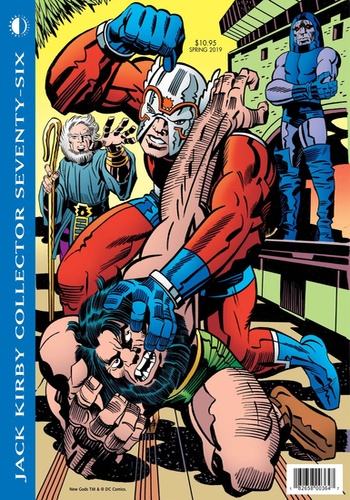 digital magazine Jack Kirby Collector publishing software
