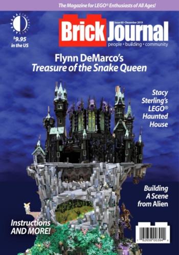 digital magazine BrickJournal LEGO Fan Magazine publishing software