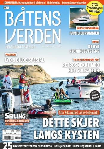 digital magazine Båtens Verden publishing software