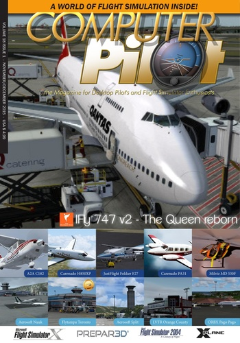digital magazine Flight! Magazin publishing software