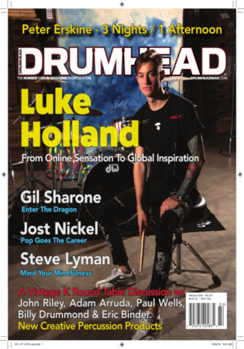 digital magazine Drumhead Magazine publishing software