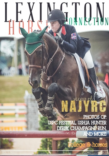 digital magazine Lexington Horse Connection publishing software