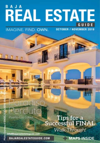 digital magazine Baja Real Estate Guide publishing software