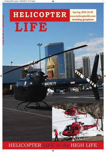 digital magazine Helicopter Life magazine publishing software