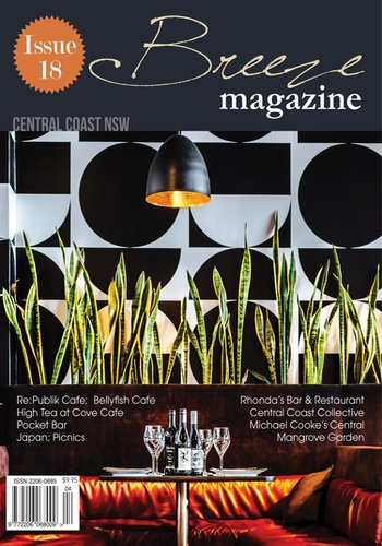 digital magazine Breeze Magazine Central Coast publishing software