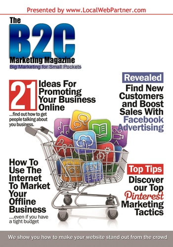 digital magazine B2C Marketing Magazine publishing software