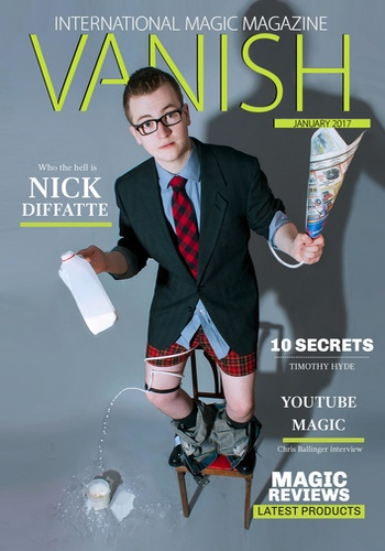 digital magazine VANISH - International Magic Magazine publishing software