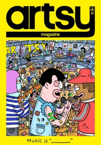digital magazine A.R.T.S.Y MAGAZINE publishing software