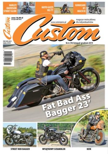 digital magazine Custom - magazyn motocyklowy publishing software