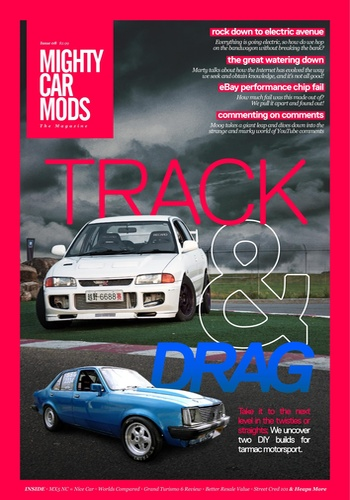 digital magazine Mighty Car Mods publishing software