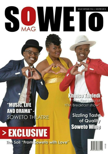 digital magazine Soweto Mag publishing software